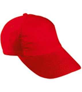 5 panelová kšiltovka (MB 5 Panel Kids  Cap) červená ... 4885d58673