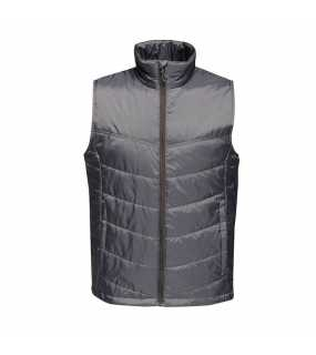 Pánská vesta (REGATTA STAGE MEN'S INSULATED B / W)>šedá (seal)>M