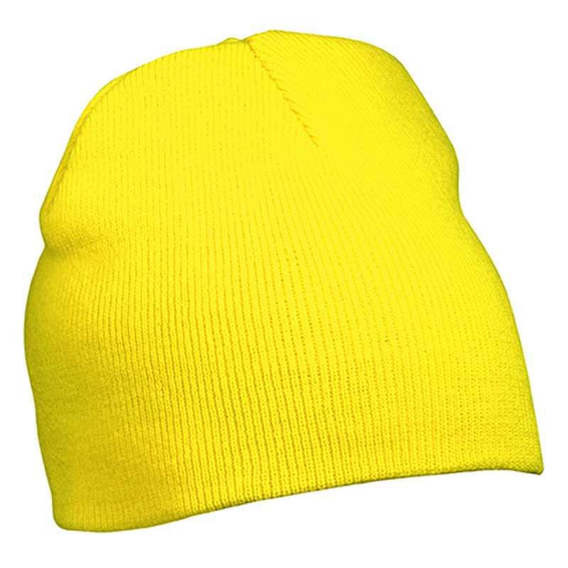 Zimní čepice (MB Beanie No.1) žlutá - Reklamní předměty 84a8b52b95