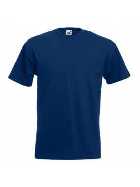 Pánské tričko (FRUIT OF THE LOOM Super Premium T)>modrá (navy)>2XL
