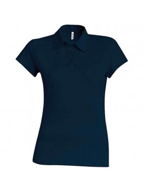 Dámská polokošile(KARIBAN LADIES SHORT SLEEVE JERSEY POLO)>modrá (navy)>M