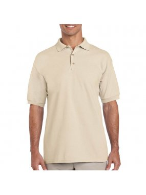 Unisex polokošile (Gildan ULTRA COTTON ADULT PIQUE POLO)>hnědá (sand)>3XL