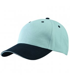 5 panelová kšiltovka (MB 5 Panel Sandwich Cap) šedá (light)   f5998259bb