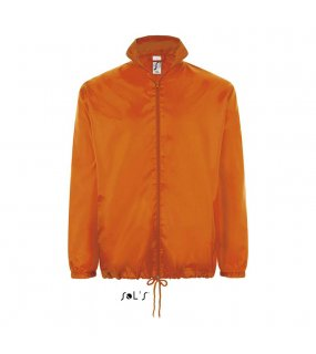 Unisex bunda (SOL'S SHIFT UNISEX WATERPROOF WINDBREAKER)>oranžová>L