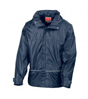 Unisex bunda (RESULT WATERPROOF PRO-COACH JACKET)>modrá (navy)>L