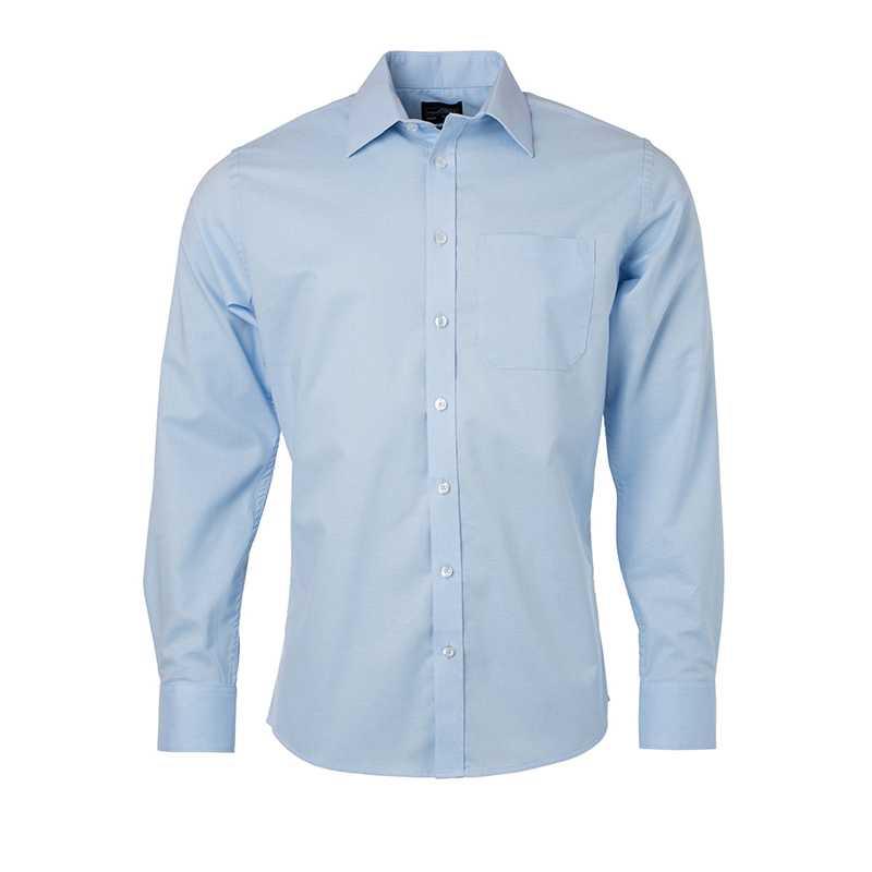 3721ac4d556 Pánská košile(JN Mens Shirt Longsleeve Oxford) modrá (light) L ...