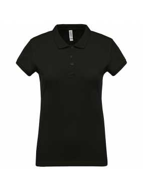 Dámská polokošile (KARIBAN LADIES 'PIQUÉ SHORT SLEEVE POLO SHIRT)>šedá (dark)>S