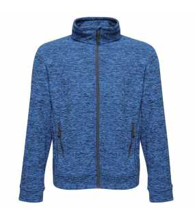 Pánská bunda (REGATTA THORNLY MEN - FULL ZIP MARL FLEECE)>modrá (navy marl)>S