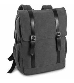 Batoh (KIMOOD FLAP-TOP CANVAS BACKPACK)>šedá (washed dark)