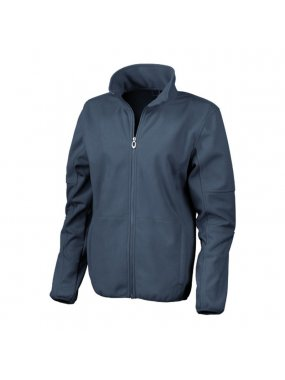 Dámská bunda (RESULT LADIES OSAKA SOFT SHELL JACKET)>modrá (navy)>M