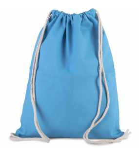 Vak se šňůrkami (KIMOOD Drawstring BAG WITH THICK STRAPS)>modrá (surf)