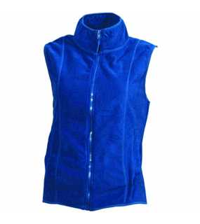 Dámská fleece vesta (JN Girly Microfleece Vest)>modrá (royal)>M