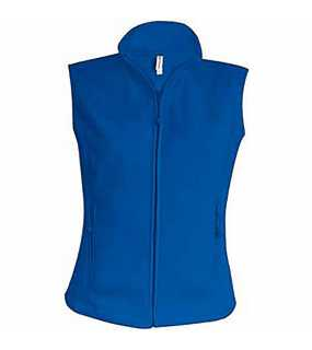 Dámská fleece vesta (KARIBAN LADIES MICRO FLEECE GILET)>modrá (royal)>XL