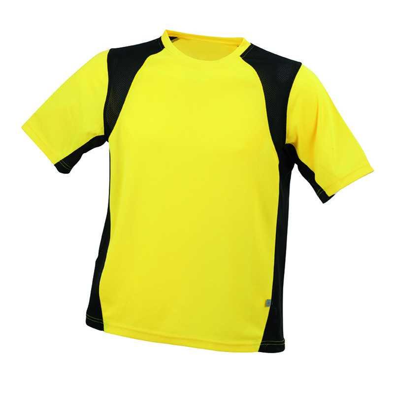 Pánské tričko (JN Men s Running-T) žlutá   černá XL. reklamní předměty ... c12f9935da