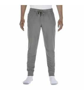 "Unisex tepláky (Comfort Colors ""ADULT FRENCH TERRY JOGGER PANTS"")>šedá>2XL"