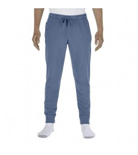 "Unisex tepláky (Comfort Colors ""ADULT FRENCH TERRY JOGGER PANTS"")>modrá (jean)>2XL"