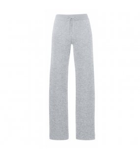 Dámské tepláky (FRUIT OF THE LOOM Lady-Fit Jog Pants )>šedá (heather)>M
