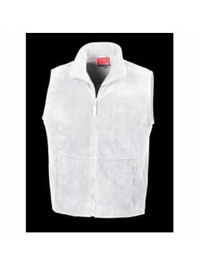 Unisex vesta (RESULT ACTIVE FLEECE BODYWARMER)>bílá>XL