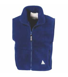 Dětská vesta (RESULT YOUTH ACTIVE FLEECE BODYWARMER)>modrá (royal)>XL
