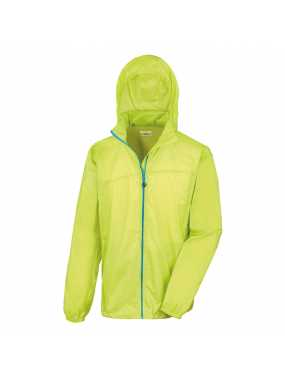 Unisex bunda (RESULT URBAN HDI QUEST LIGHTWEIGHT JACKET)>zelená (lime) / modrá (royal)>M