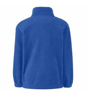 Dětská fleece bunda (FRUIT OF THE LOOM Kids Outdoor Fleece )>modrá (royal)>12/13