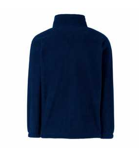 Dětská fleece bunda (FRUIT OF THE LOOM Kids Outdoor Fleece )>modrá (deep navy)>9/11