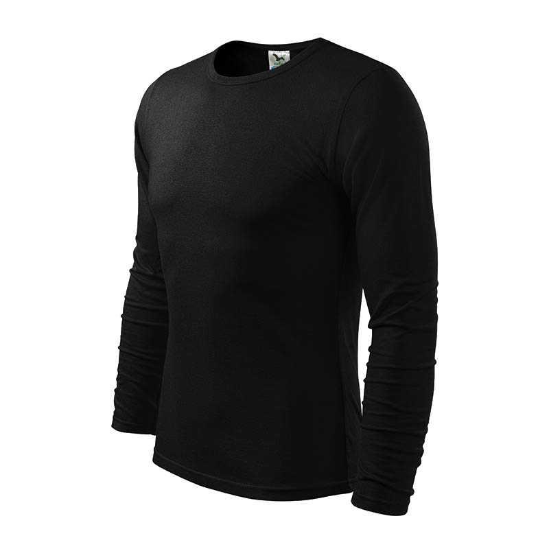 Pánské triko (ADLER Fit-T Long Sleeve 160)  černá  S. reklamní předměty ... 61caa3abd4