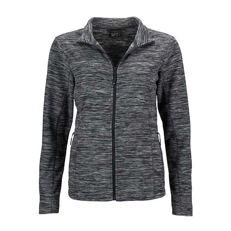 369c76addbb Dámská mikina (JN Ladies Fleece Jacket) šedá (melange)   šedá  (anthracite) 2XL