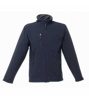 Pánská bunda(REGATTA OCTAGON 3-LAYER MEMBRANE SOFTSHELL)>modrá (navy)>L