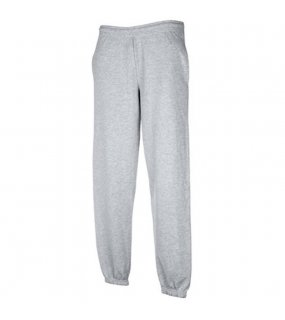 Unisex tepláky (Fruit of the Loom-70/30 JOG PANTS)>šedá (heather grey)>L