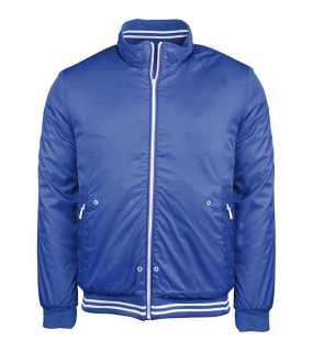 Pánská bunda(KARIBAN MENS PADDED BLOUSON JACKET)>modrá (light royal)>XL