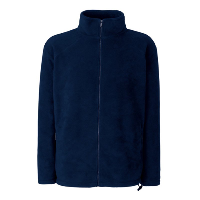 Pánská flecee bunda (FRUIT OF THE LOOM Full Zip Fleece )>modrá (deep navy)>XL