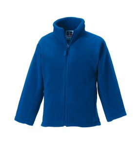 Dětská fleece bunda (Full Zip Outdoor Fleece RUSSELL)>modrá (bright royal)>5/6