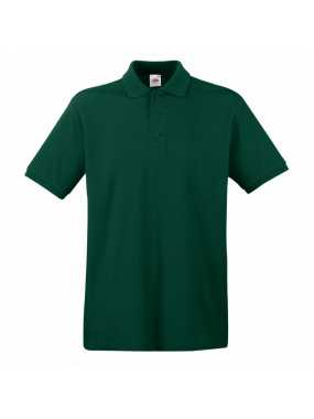 Pánská polokošile (FRUIT OF THE LOOM Premium Polo )>zelená (forest)>S