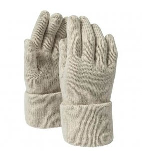 Rukavice(MB Fine Knitted Gloves)>hnědá (sand)>L/XL