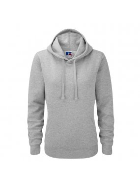 Dámská mikina (RUSSELL AUTHENTIC HOODED/W)>šedá (lightoxford)>M