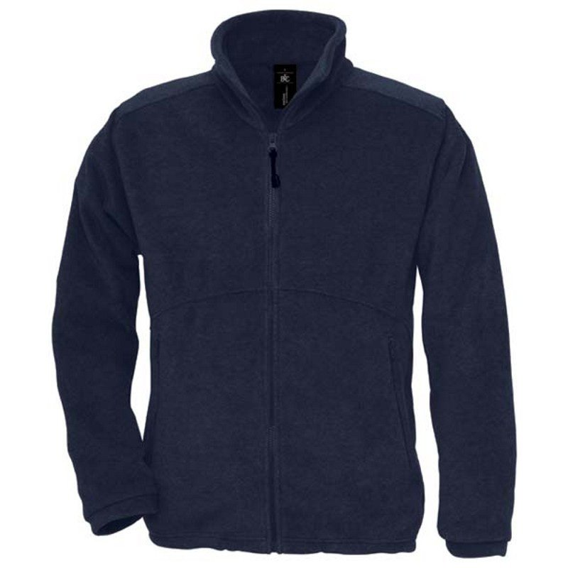 Unisex fleece bunda (B&C ICEWALKER+)>modrá (navy)>XL