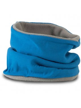 "Nákrčník (K-UP ""FLEECE-LINED NECKWARMER"")>modrá (lagoon) / šedá (light)"