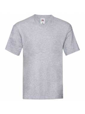 Pánské triko(FRUIT OF THE LOOM Original V Neck T)>šedá (heather grey)>2XL