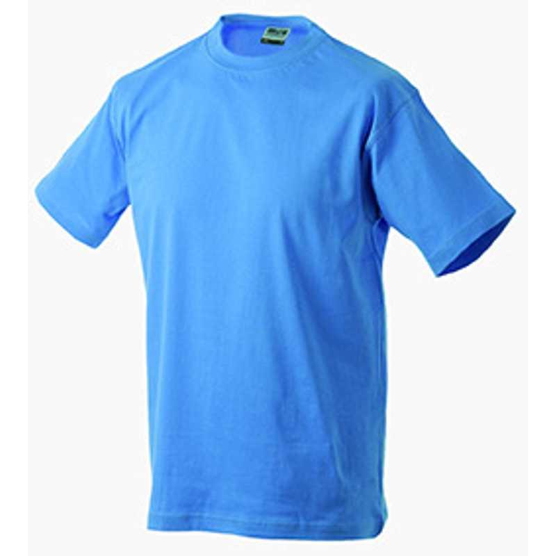 Pánské tričko (JN Round-T Heavy) modrá (aqua) L - Reklamní předměty ... 68ffeba905