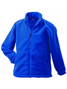 Dětská fleece bunda (JN Full-Zip Fleece Junior)>modrá (royal)>M