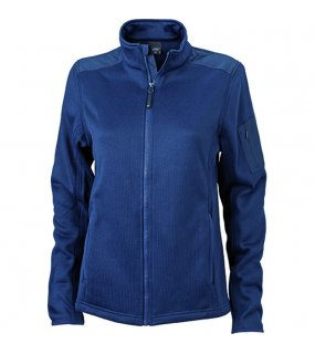 Dámská fleece bunda (JN Ladies' Knitted Fleece Jacket)>modrá (navy)>M