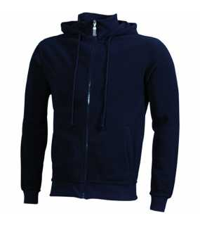 Pánská fleece bunda (JN Microfleece Hooded Jacket)>modrá (navy)>XL