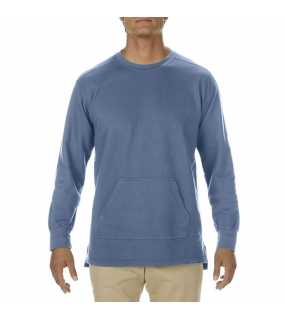 "Unisex mikina (Comfort Colors ""ADULT FRENCH TERRY Crewneck"")>modrá (jean)>S"