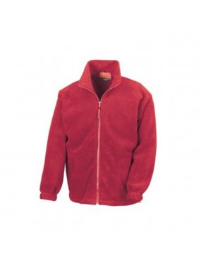 Dětská bunda (RESULT YOUTH FULL ZIP ACTIVE FLEECE)>červená>L