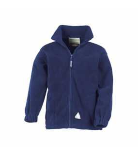 Dětská bunda (RESULT YOUTH FULL ZIP ACTIVE FLEECE)>modrá (navy)>L