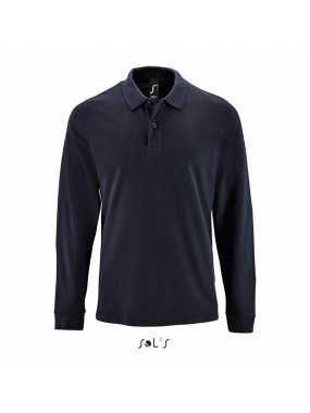 Pánská polokošile(SOL'S PERFECT LSL MEN - LONG-SLEEVE PIQUÉ POLO)>modrá(frenchnavy)>XL