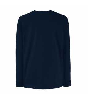 Dětské tričko (FRUIT OF THE LOOM Kids Long Sleeve Valueweight T)>modrá (deep navy)>5/6