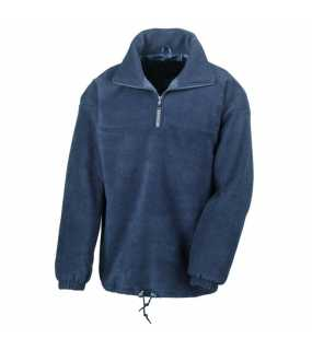 Unisex mikina (RESULT FULLY LINED FLEECE TOP)>modrá (navy)>L