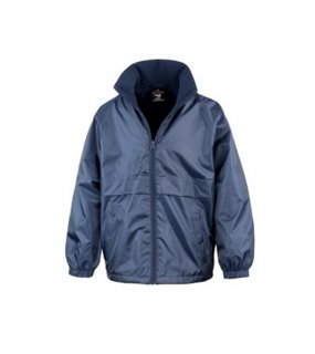 Dětská bunda (RESULT CORE YOUTH MICRO FLEECE LINED JACKET)>modrá (navy)>XL